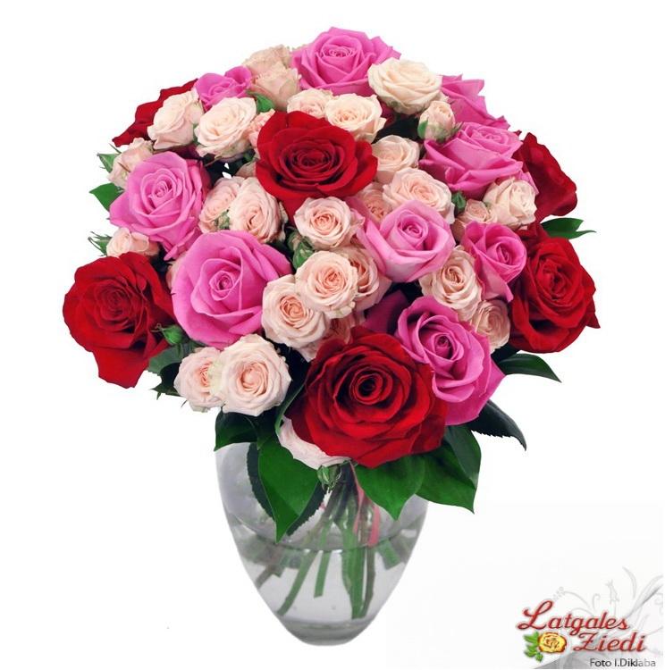 Поздравление к букету из цветов