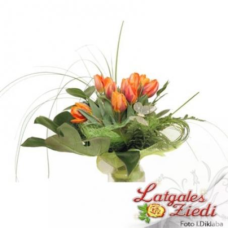 Mazcenas ziedu pušķis 041