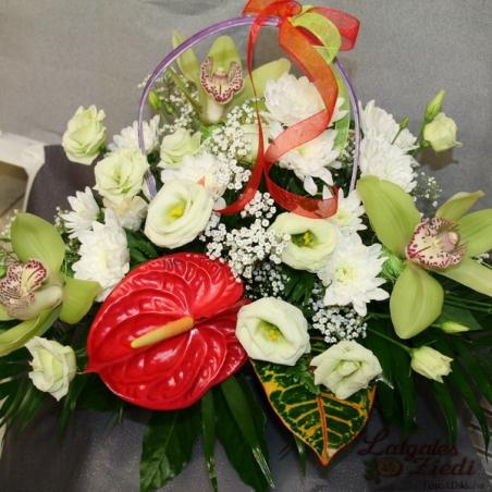 Mazcenas ziedu pušķis 085