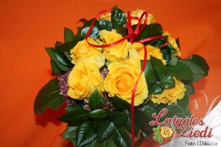Mazcenas ziedu pušķis 074