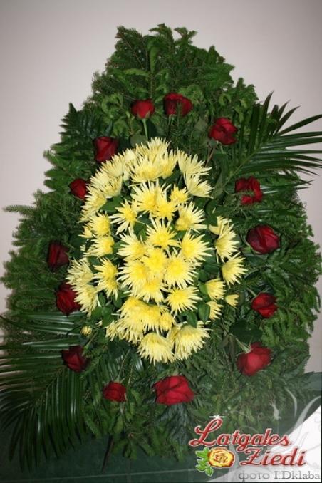 Цветы траурные купить