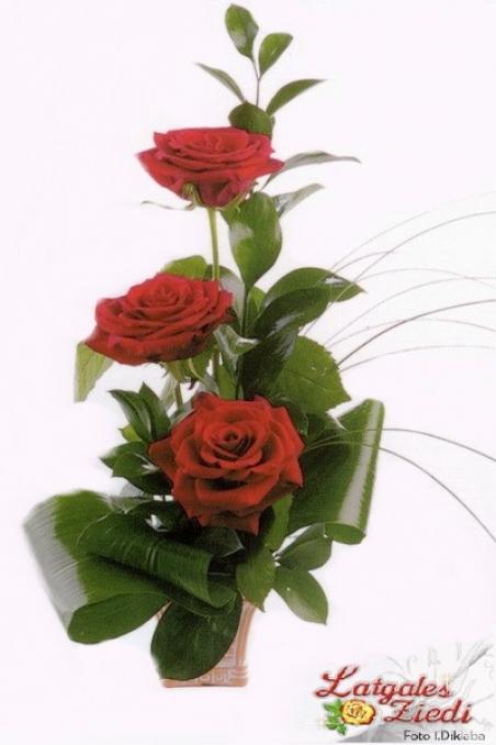 Mazcenas ziedu pušķis 082