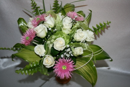 Mazcenas ziedu pušķis 076