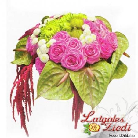 Mazcenas ziedu pušķis 045