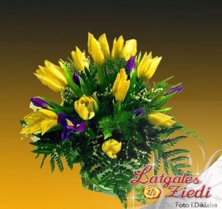 Mazcenas ziedu pušķis 043